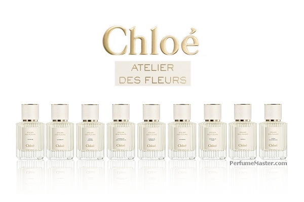 Chloe Atelier Des Fleurs Collection of Flower Fragrances