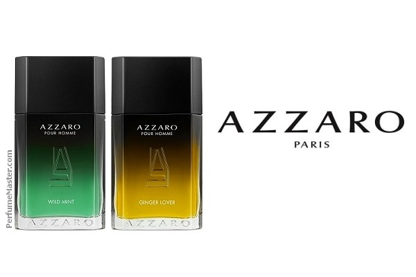Azzaro Ginger Lover and Wild Mint Sensual Blend Editions