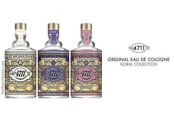 4711 Floral Collection Jasmin Lilac Rose Original Eau de Cologne