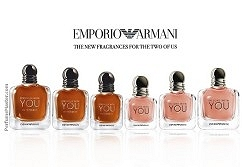 Emporio Armani In Love With You and Stronger With You Intensely