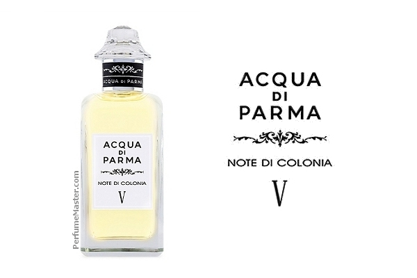 Acqua di Parma Note di Colonia V New Fragrance