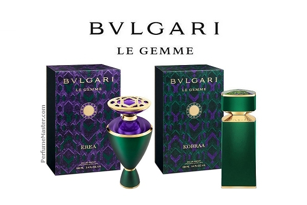 Erea and Kobraa New Bvlgari Le Gemme Editions