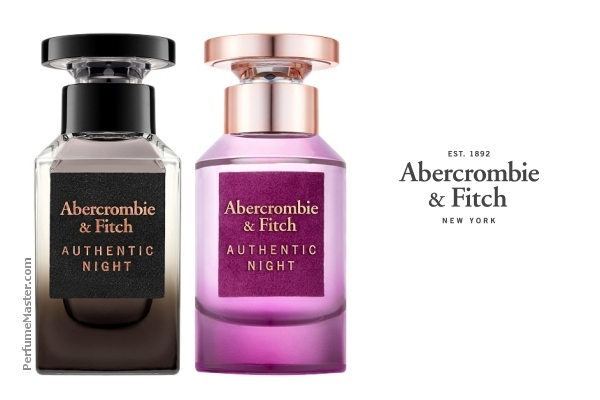 Abercrombie & Fitch Authentic Night Perfume Collection