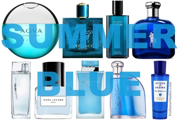 Blue Perfumes and Fragrances to Refresh Your Summer