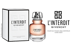 Givenchy L'Interdit Hair Mist New Fragrance Ritual