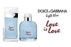 Dolce & Gabbana Light Blue Love is Love Perfume Collection