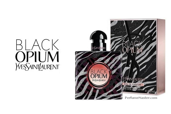 Black Opium Zebra Collector Edition New YSL Fragrance