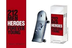 Carolina Herrera 212 Men Heroes Forever Young