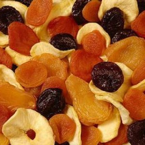 sweet dried fruit